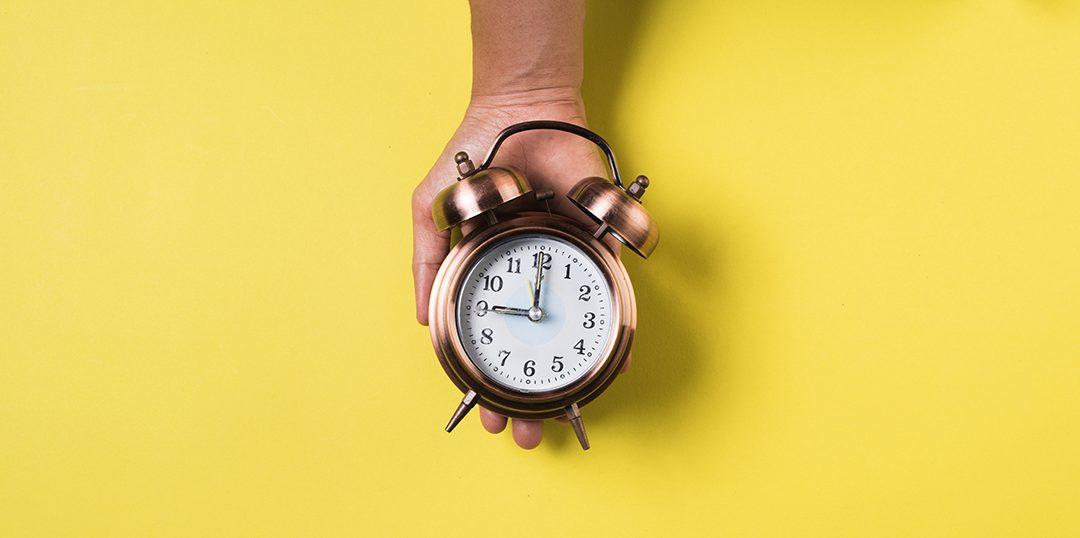 Para poder gestionar tu tiempo debes conocerte